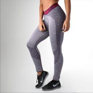 Gymshark V2 Flex Dry Leggings Blackberry Marl